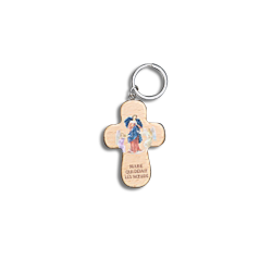 Porte-clef Notre-Dame qui...
